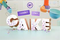 "BT ""Code a cake"" by AnalogFolk"
