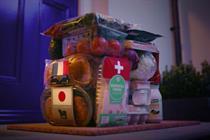 """Deliveroo """"England 'til we dine"""" by Pablo London"""