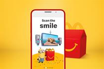"McDonald's ""Scan the smile"" by R/GA London"