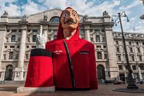 "Netflix ""Piazza de Papel"" by Publicis Groupe Italy"
