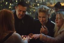 "M&S Food ""This is not just food, this is M&S Christmas food"" by Grey London"