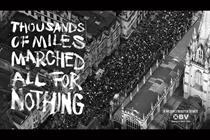 """Operation Black Vote """"All for nothing"""" by Saatchi & Saatchi"""