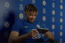 "Three ""Chelsea FC Gogglebox idents"" by Wonderhood Studios"