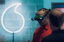 "Vodafone ""Lewis Hamilton x drones and gaming"" by We Are Social"