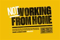 "End Youth Homelessness ""(Not) working from home"" by Neverland"