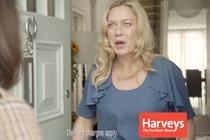 Harveys 'feelgood furniture' by HMDG