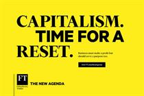 """The Financial Times """"The new agenda"""" by The Brooklyn Brothers"""