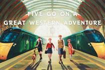 """Great Western Railway """"Five go on a Great Western adventure"""" by Adam & Eve/DDB"""