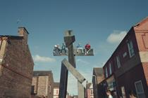 "Channel 4 ""Giant idents"" by 4Creative"