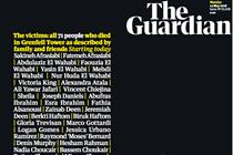 "The Guardian ""14 May 2018 front page"" (in-house)"