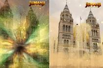 """Sony Pictures Entertainment """"Jumanji: The Next Level"""" by Snapchat"""