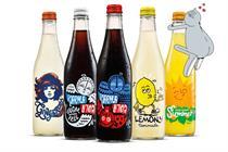 "Karma Cola ""Good drinks for bad adults"" by Wonderhood Studios"