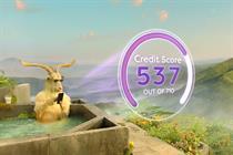 """Moneysupermarket """"Get credit monitor"""" by Engine"""