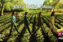 "McCain ""100% British potatoes"" by BMB"