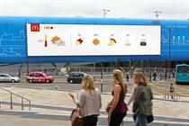 "McDonald's ""Weather-reactive campaign"" by Leo Burnett London"