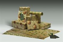 """Morrisons """"Christmas wrapping paper"""" by DLKW Lowe"""