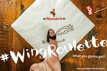 """Nando's """"Wing Roulette"""" by 18 Feet & Rising"""