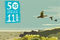 "National Trust ""50 things to do before you're 11¾"" by Lida"