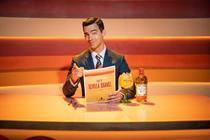 Joe Jonas channels a retro weatherman for Tanqueray