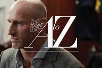"""The Times and The Sunday Times """"the A-Z of rugby"""" by Grey London"""