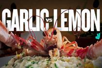 "Deliveroo ""Garlic vs lemon"" by Pablo"