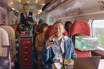"""Virgin Trains """"Very fast chair"""" by Anomaly"""