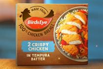 """Birds Eye """"Chicken grills"""" (in-house)"""