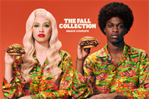 """Burger King """"The Fall collection"""" by BBH"""