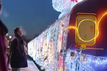 "Cadbury ""Christmas commute"" by Fallon"