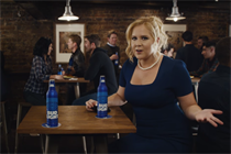 Amy Schumer and Seth Rogen take on the gender pay gap for the Bud Light Party