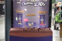 In Singapore, Cadbury lets commuters browse with their butts