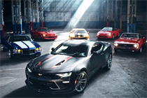 The Chevy Camaro gets an interactive graffiti mural for its 50th birthday