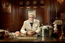 Colonel Sanders gives a 'Fryerside Chat' by Wieden + Kennedy Portland
