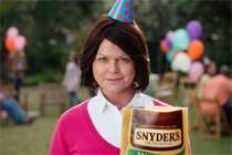 New Snyder's of Hanover campaign features spokeswoman with gravitas