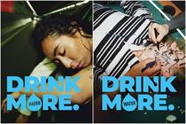 """Pernod Ricard """"Drink more... water"""" by Buzzman"""