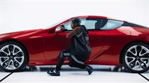 Lexus delivers a celebrity triple threat in Super Bowl LI spot