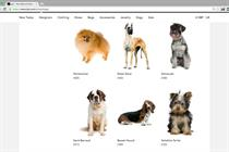 """Lyst """"canine collection"""""""