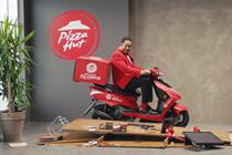 """Pizza Hut Delivery """"Now that's delivering"""" by Iris"""