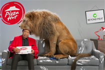 """Pizza Hut """"Approved by carnivores"""" by Iris Worldwide"""