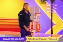 Pluto TV throws it back with David Hasselhoff infomercial