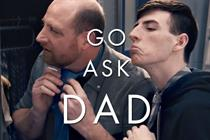 Dads share wisdom with reluctant teens in Gillette Father's Day spot