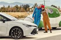 """Toyota """"Not all hybrids are born equal"""" by The & Partnership"""