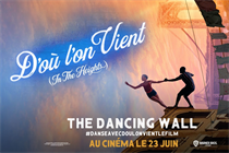 """Warner Bros """"The dancing wall"""" by We Are Social"""
