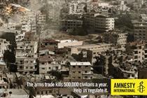 Amnesty International 'tsunami' by TBWA\Paris