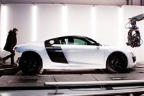 """Audi """"evolution on the outside, revolution on the inside"""" by BBH"""