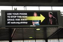 NCDV 'drag him away' by JWT London