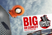 Comedy Central 'launch' by Karmarama