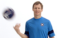 Everyman 'keep your eye on the ball' by Hooper Galton featuring Teddy Sheringham
