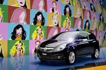 Corsa 'pop art' by DLKW