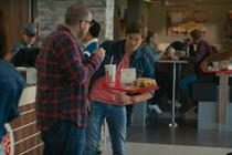 Big in France: Burger King celebrates Back to the Future Day with a 'hovertray'